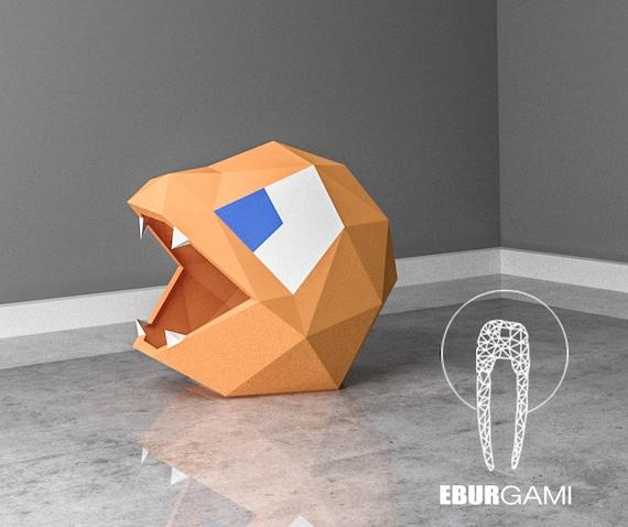 Charmander Mask PaperCraft Paper Pokemon Go