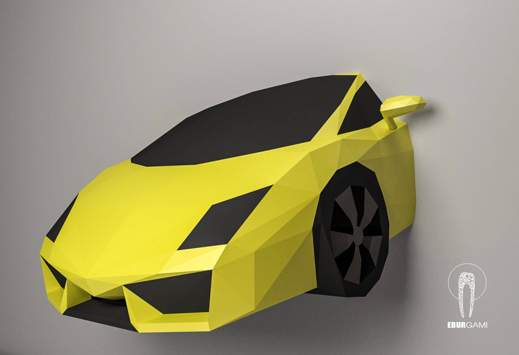 Car Papercraft, Lamborghini Gallardo 3D Papercraft, Build Your Own ...