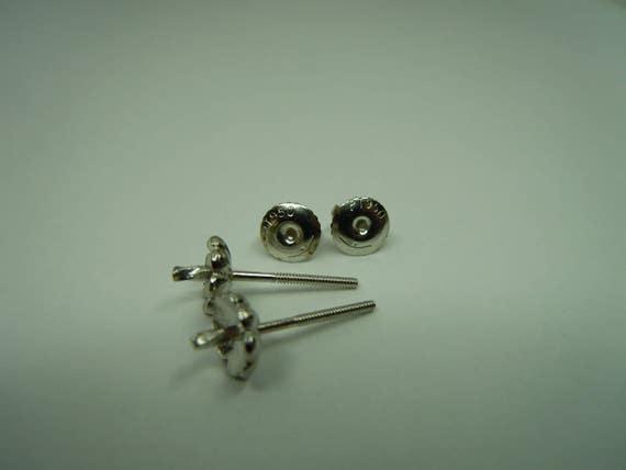 Sterling Silver 14mm Hoop Earrings ER014