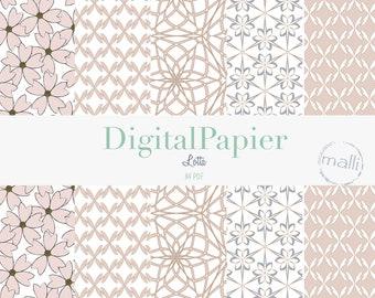 Digital Papier Lotta