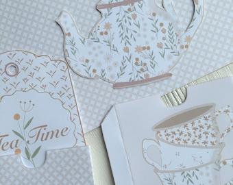 Tea Time Motivbogen