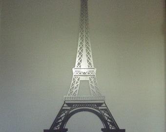 Large Eiffel Tower in Raw Steel