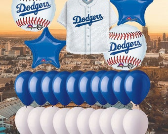 Dodgers party  Etsy