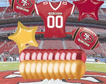 San Francisco 49ers 25 Piece Balloon Set