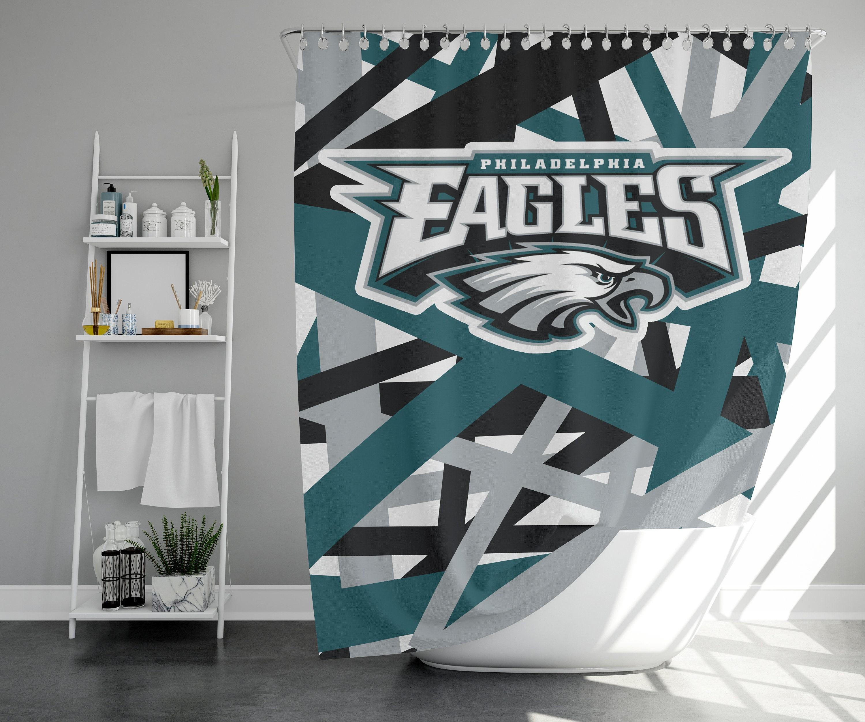 Philadelphia Eagles Shower Curtain Etsy