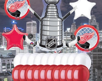 Detroit Red Wings 25 piece Balloon Kit