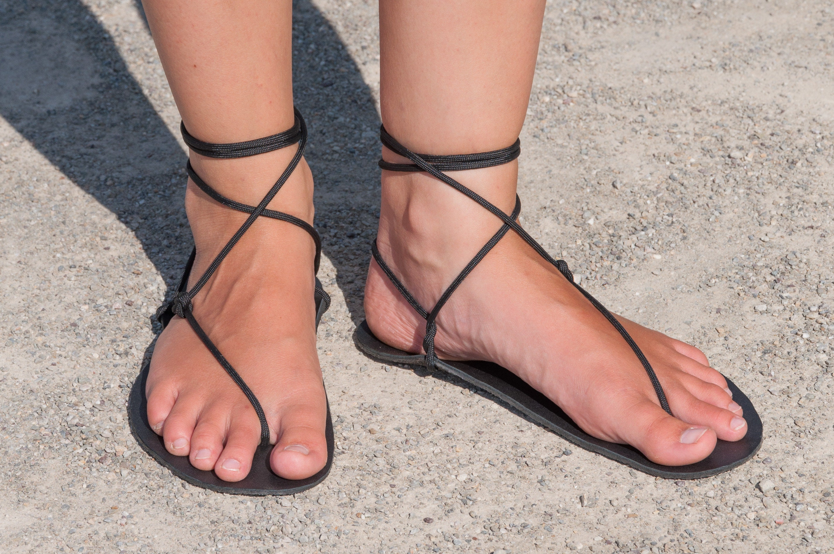 Geniale Sandale, Barefoot sandal, Huarache,