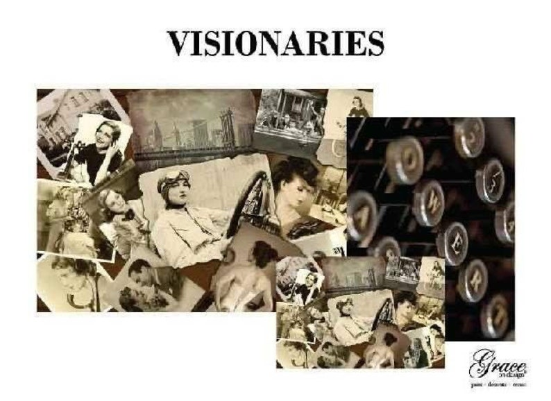 Visionaries Grace on Design Decoupage Pack