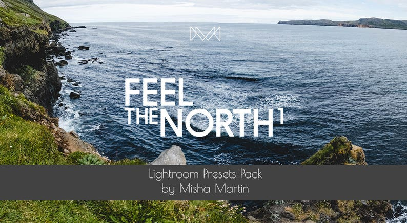 Feel The North 1  Lightroom Presets Pack for Landscape image 0