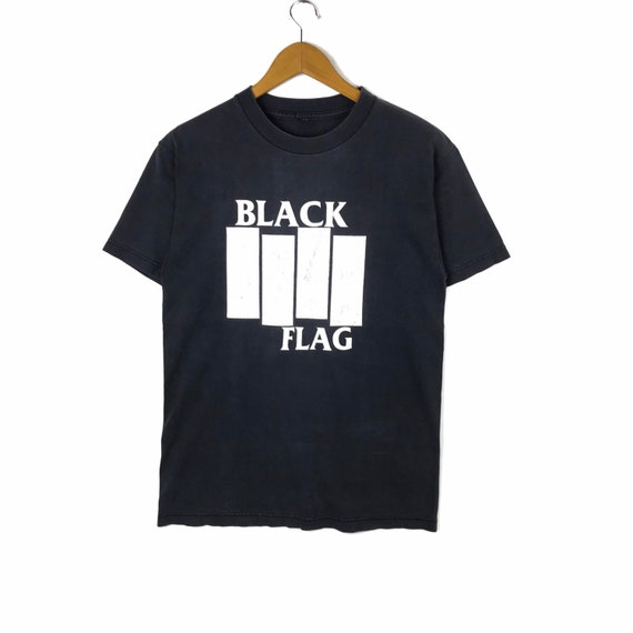 Rare !!! Vintage Black Flag Tshirt Vtg Black Flag
