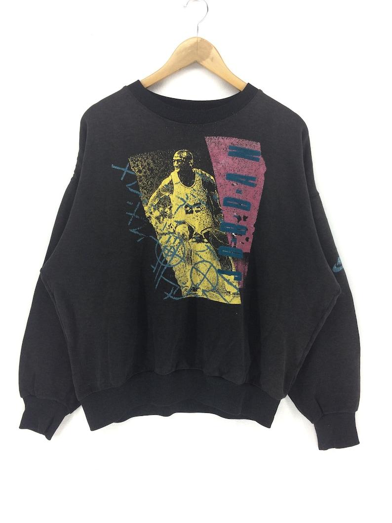 53a98232cc3 Rare Vintage 90s Nike Swoosh 23 Michael Jordan Sweatshirt | Etsy