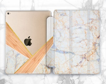Marble Ipad 9.7 Case Geometric Ipad Wooden Ipad Cover Ipad Air 2 Clear Ipad Pro Case Ipad Mini 4 Cover 10.5 Ipad Case Ipad 2017 Smart Case 3