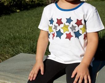 kids superhero tshirt and cape