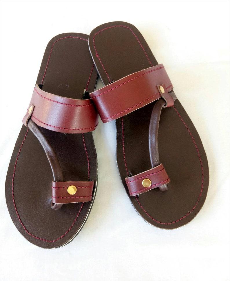 fe30b0e3bd2e72 Mens Leather sandals mens res sandals Maasai sandals mens