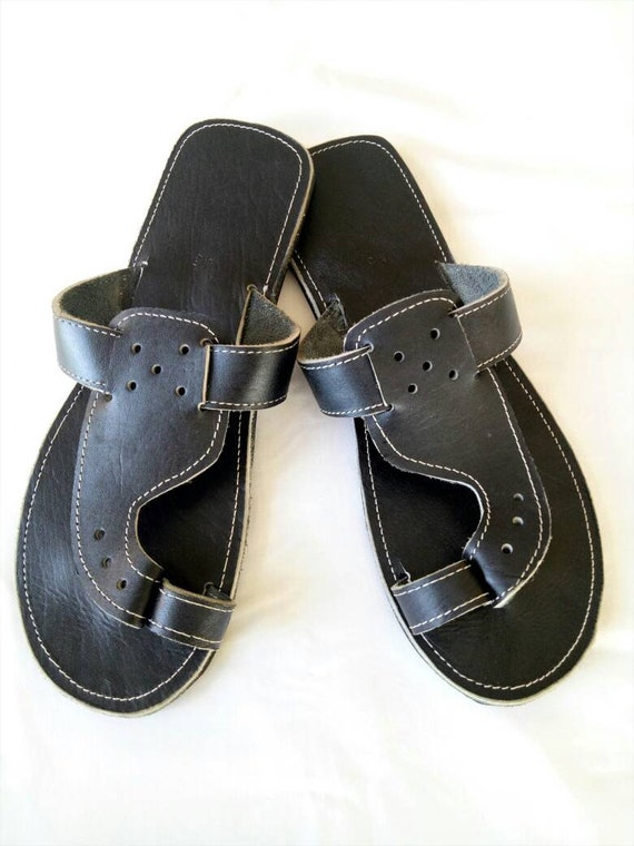 f55155abd60 Mens Leather sandals mens brown sandals Maasai sandals mens