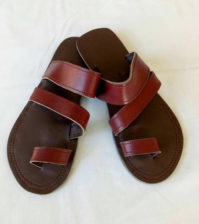 54fa89cee90f6d Men s Leather sandals mens sandals Maasai