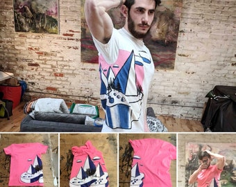 Hand Painted Shirts