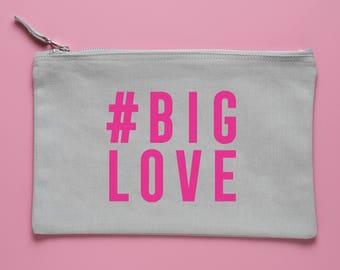 BIG LOVE: Mini Clutch / Accessory Bag