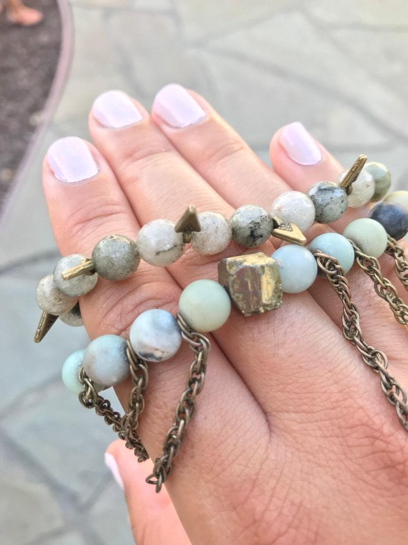 stretch bracelets yoga beads meditation beads gifts under 50 natural stone bracelets gifts for her boho jewelry Beaded bracelet sets