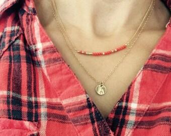 Morse Code Necklace