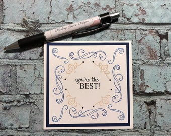 You're the Best Card  Any Occasion Greeting Card