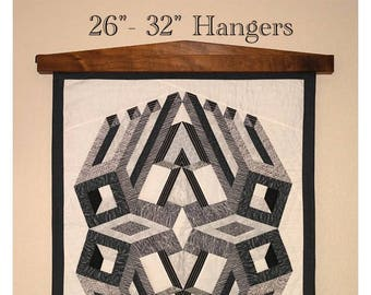 Quilt hanger / The classic modern, for quilts, rugs, or textiles