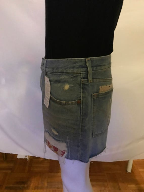 Vintage 90s Levis Redone Shorts - image 3