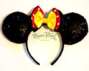 Miss Mouse Sequin Mouse Ears