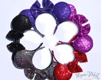 Sequin Mouse Ears 2 - Choose Your Color