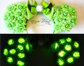 Light-Up Fairy Floral Mouse Ears