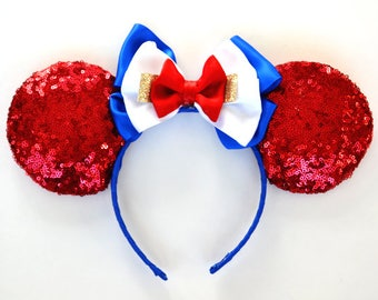 Made in America Sequin Mouse Ears