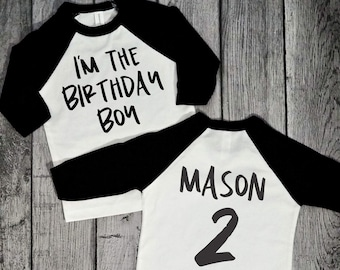 2 Year Old Birthday Shirt Boy 2nd Boys Second