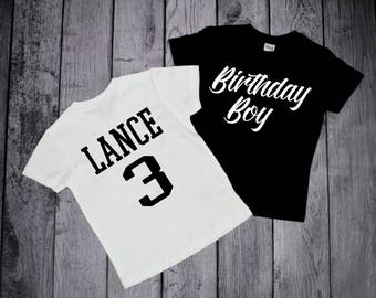 3 Year Old Birthday Shirts Boys 3rd Third