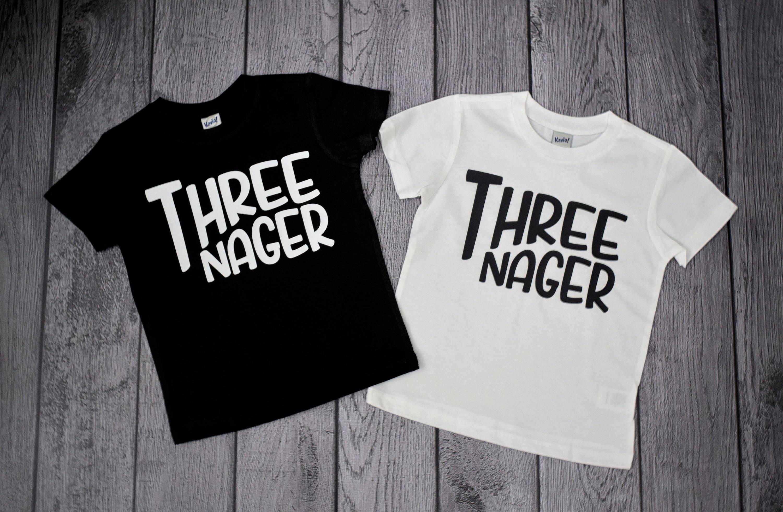 Three Year Old Birthday Shirts Boys 3rd Shirt