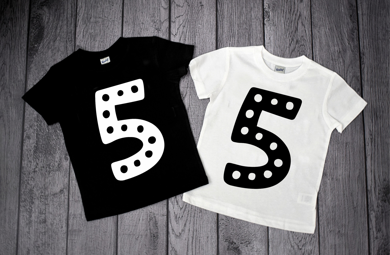 5th Birthday Shirt Boy 5 Year Old Five