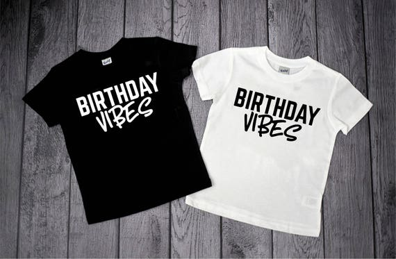 Birthday Shirt Boy Vibes Kids 3 Year