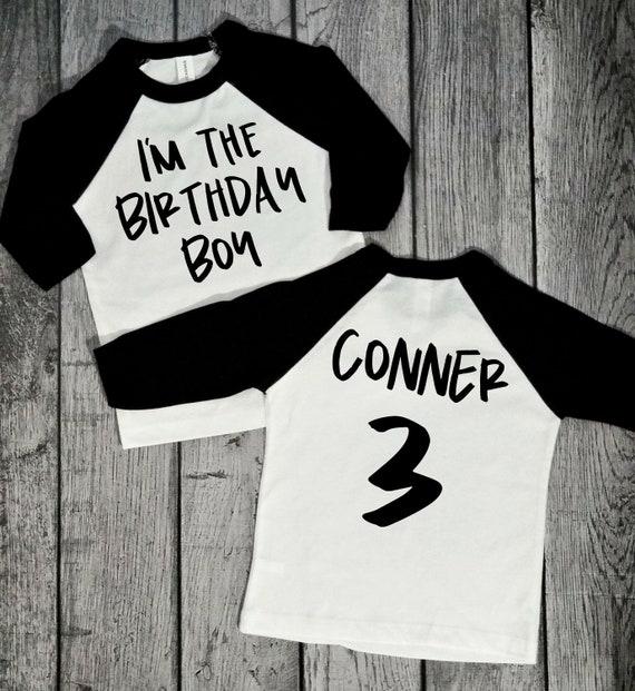 Im The Birthday Boy 3rd Raglan Shirt