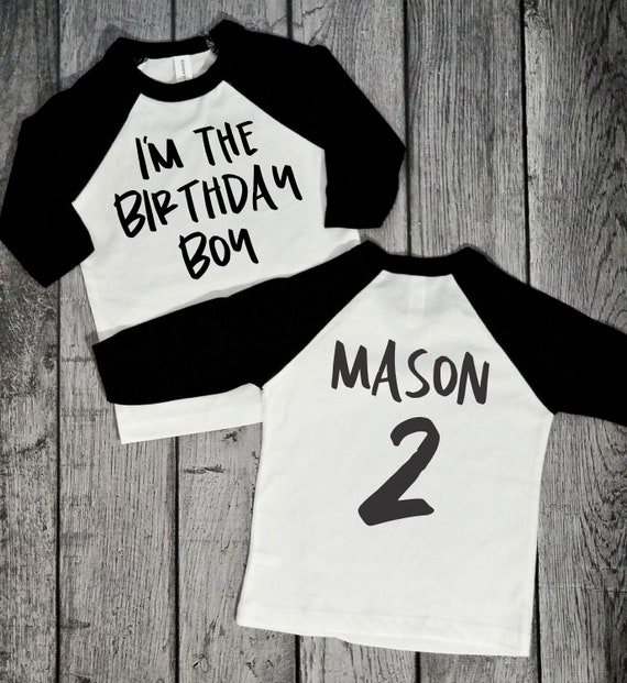 2 Year Old Birthday Shirt 2nd Shirts Boy Boys Second