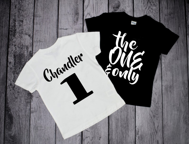 1st Birthday Shirt Boy Boys Bday 1 Year Old Shirts First One