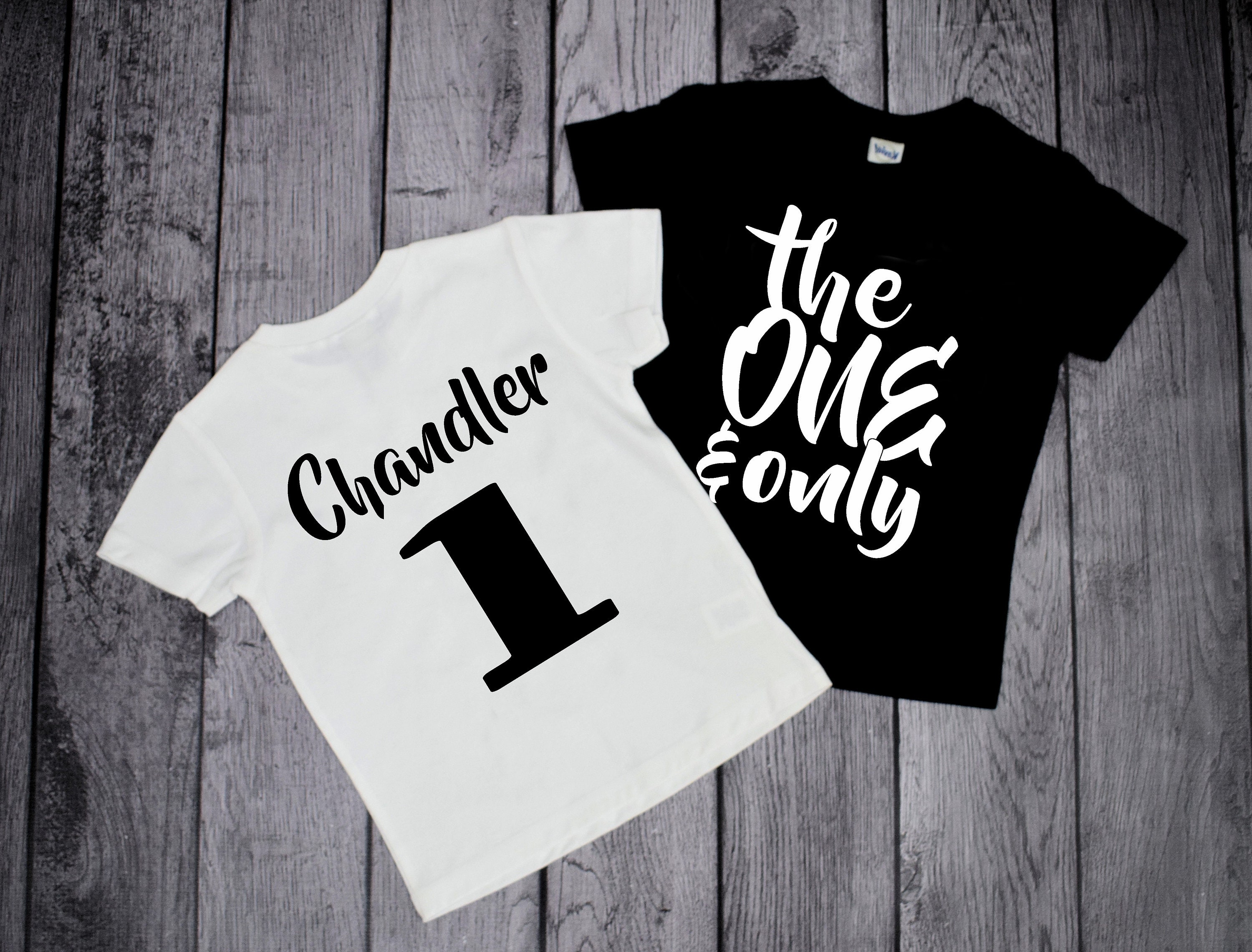 1st Birthday Shirts One Year Old 1