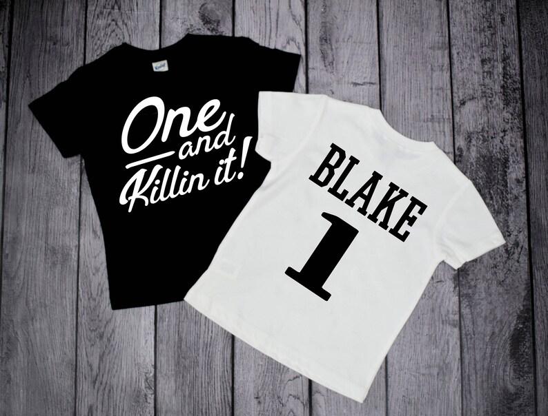 1st Birthday Shirts One Year Old Boys First Shirt