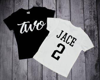 2nd birthday shirt, 2 year old birthday boy, 2nd birthday shirt boy, two year old birthday shirt, two year old birthday shirt boy, 2nd bday