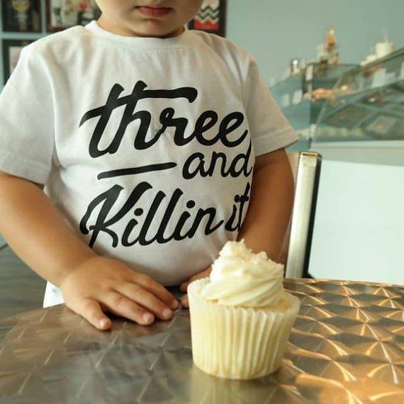 3rd Birthday Shirt Third Shirts 3 Year Old
