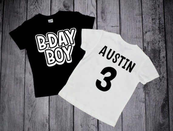 Birthday Boy Shirt 3 Year Old 3rd Three Shirts Boys