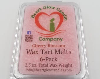 2.5 oz. Wax Tart Melts in Clamshell