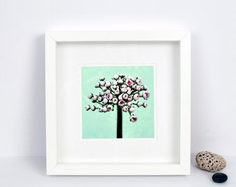 Spring - Floral Wall Art - Pink & Mint - Still Life - Botanical Print - Shabby Chic - Limited Edition Photograph - Ideal Gift