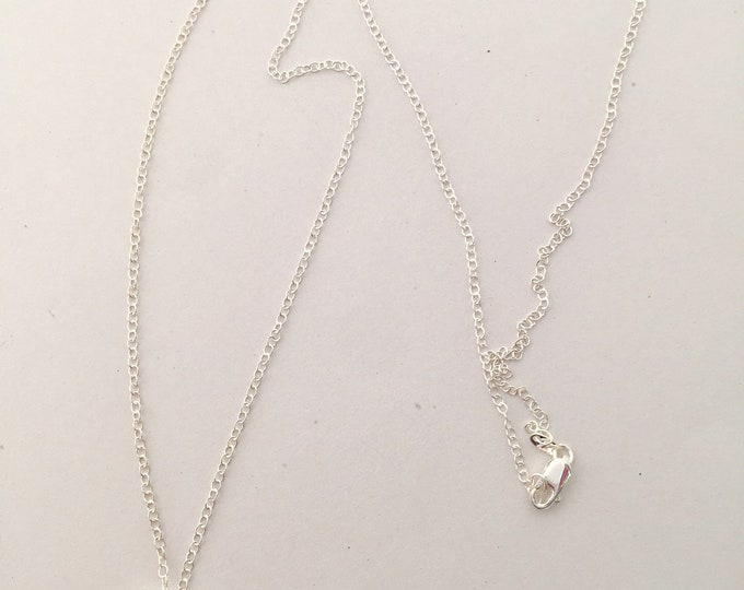Sterling Silver Mila Pendant Necklace