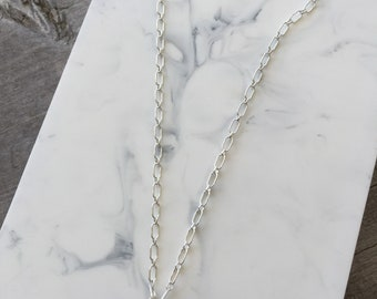 Genuine Seaglass Pendant on a Sterling Silver Choker