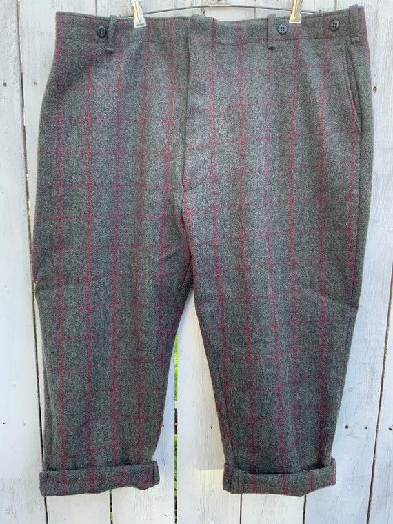 Vintage Wool Hunting Pants, Vintage Wool Pants, Ma