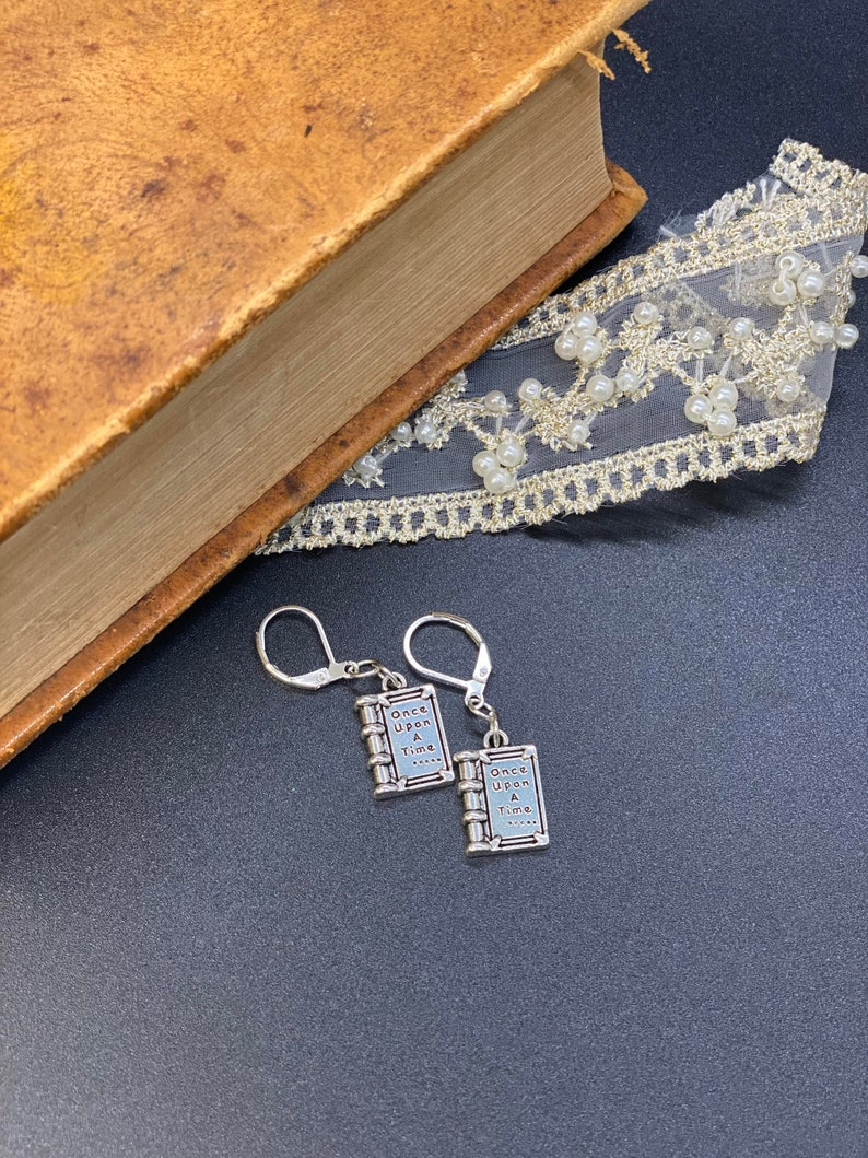 Once Upon a Time  Earrings Gift for fairy tale lovers gift image 0